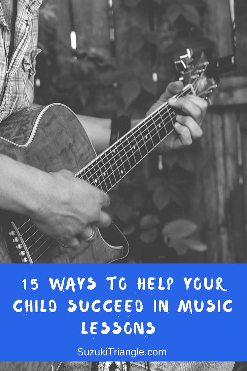 Help Your Child Succeed at Music Lessons
