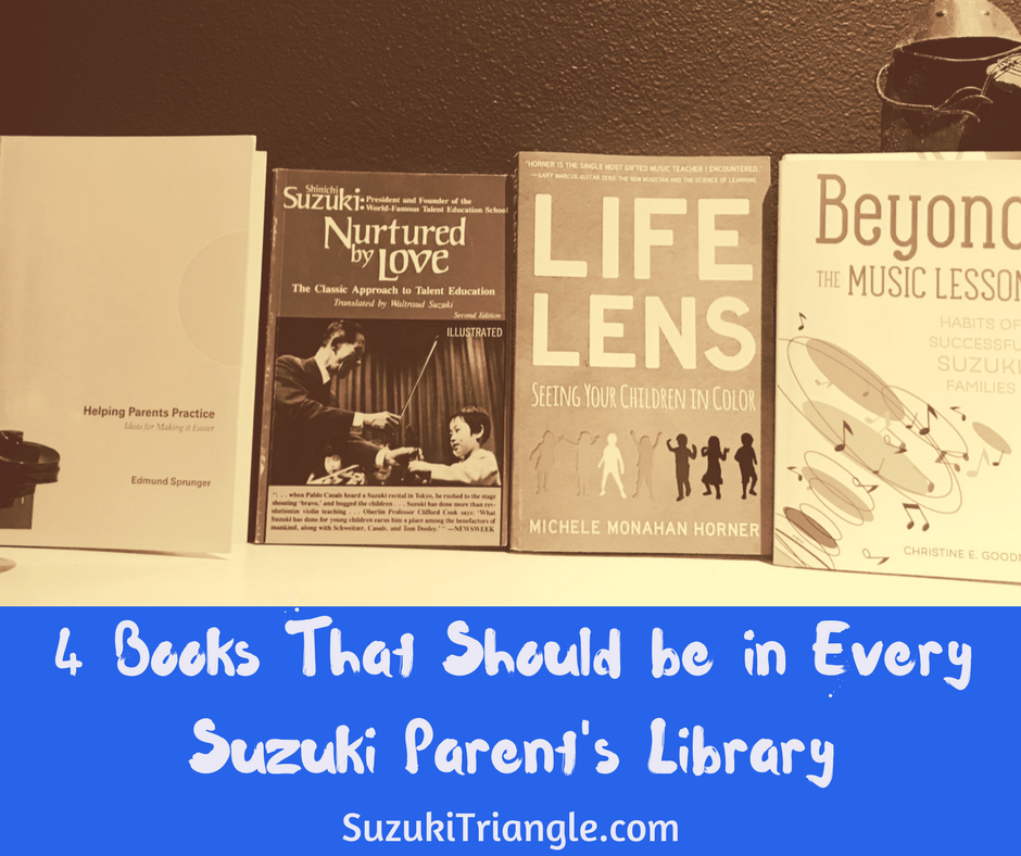 4 books every Suzuki parent should own
