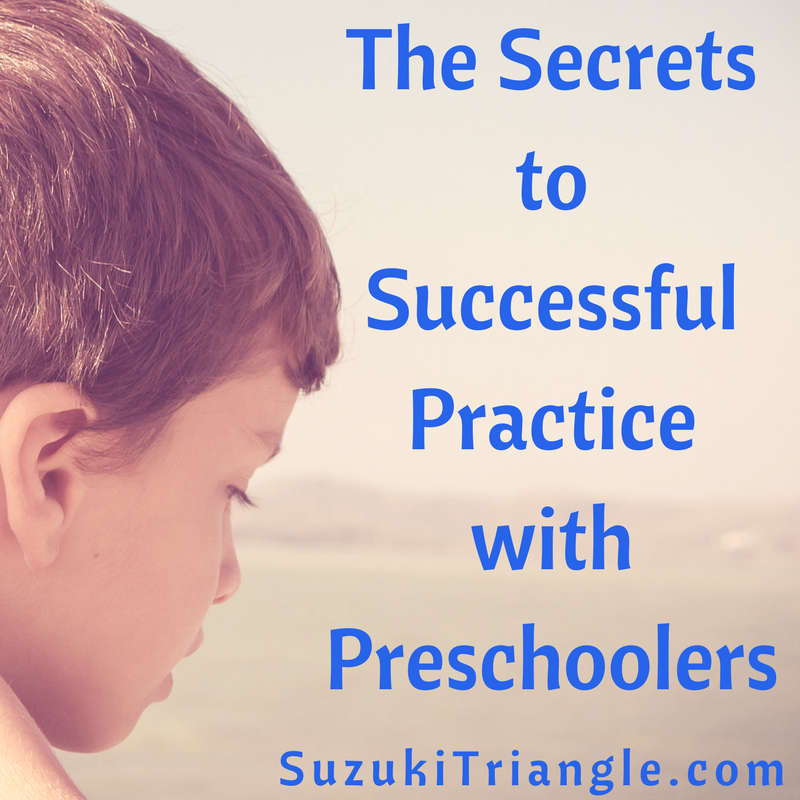 Secrets to Successful Practice with Preschoolers